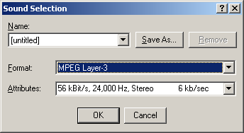 Save as MP3