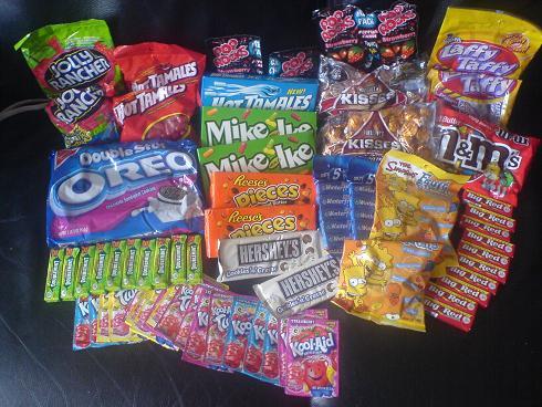 My USA Candy Stash