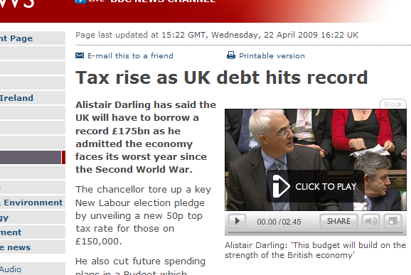 50p Tax by Alistair Darling
